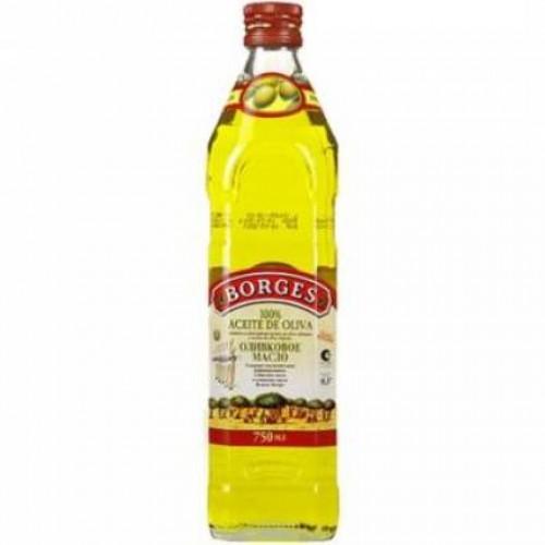 """Масло оливковое """"Боргес"""" 0,75 мл 100%"""