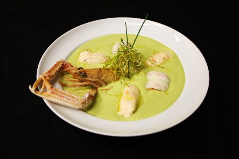 Суп из лангустинов